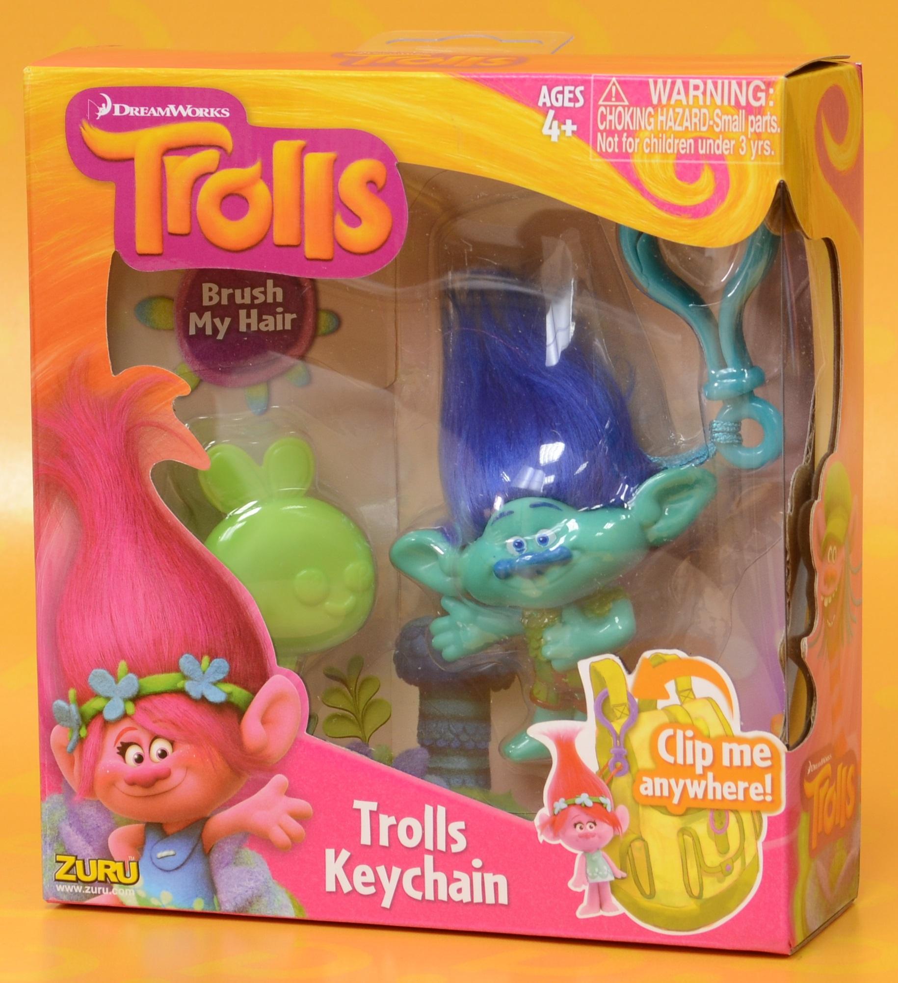 Брелок Trolls. Тролль Цветан (Branch)Представляем вашему вниманию брелок Trolls. Тролль Цветан, созданную по мотивам анимационного фильма производства DreamWorks Animation.<br>