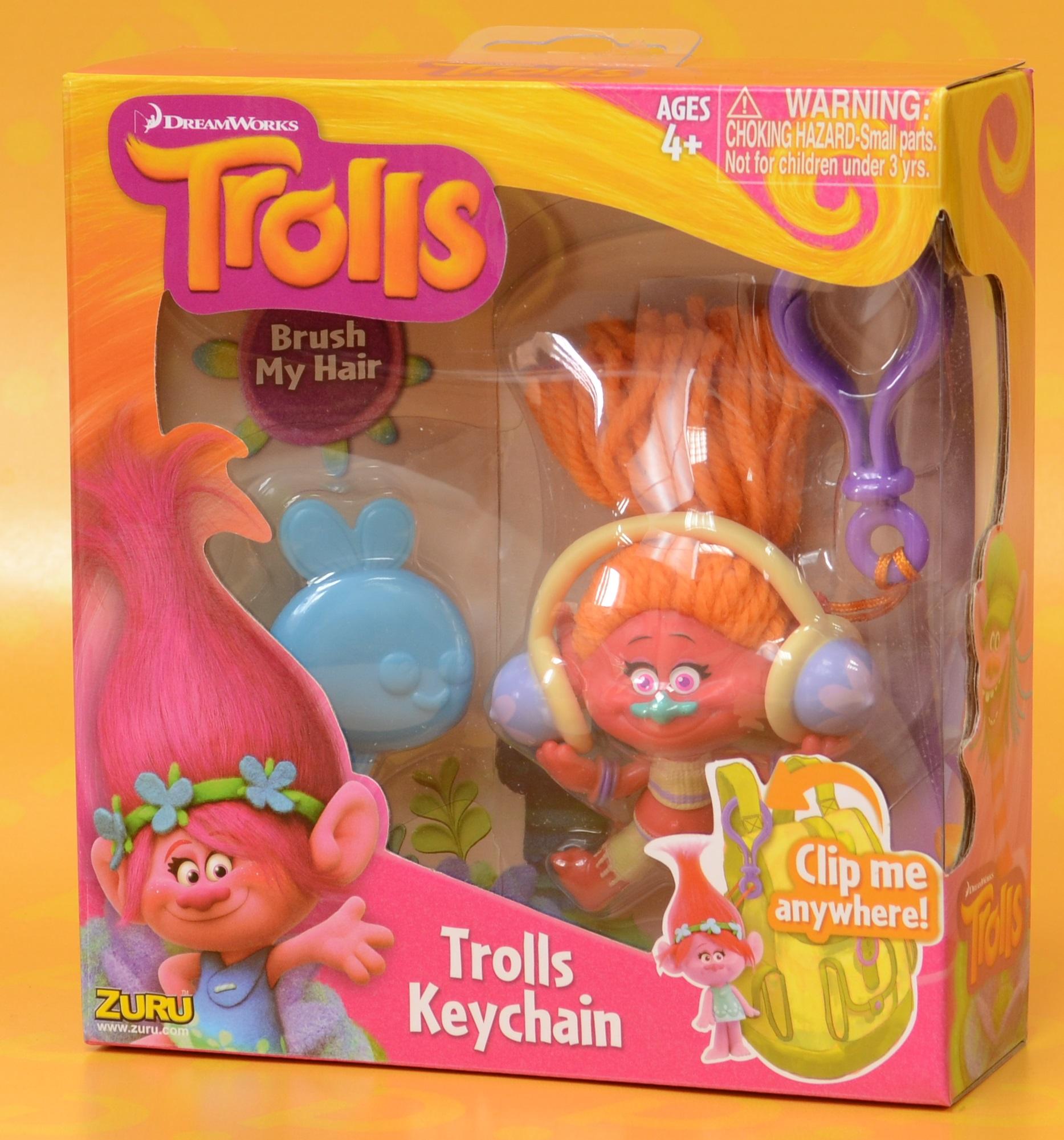 Брелок Trolls. Тролль DJ Звуки (DJ Suki)Представляем вашему вниманию брелок Trolls. Тролль DJ Звуки, созданную по мотивам анимационного фильма производства DreamWorks Animation.<br>