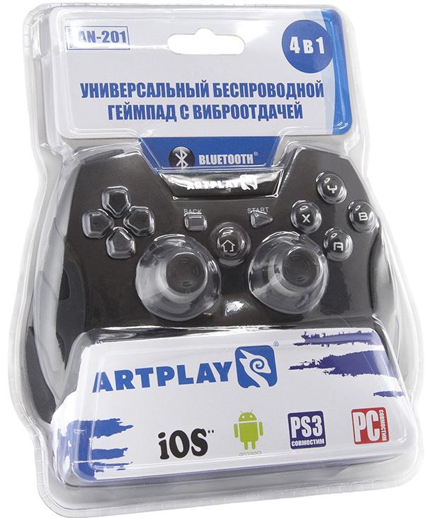 Геймпад Artplays Bluetooth/радио беспроводной для PCБеспроводной геймпад Artplays Bluetooth/радио &amp;ndash; мультиплатформенный беспроводной геймпад.<br>