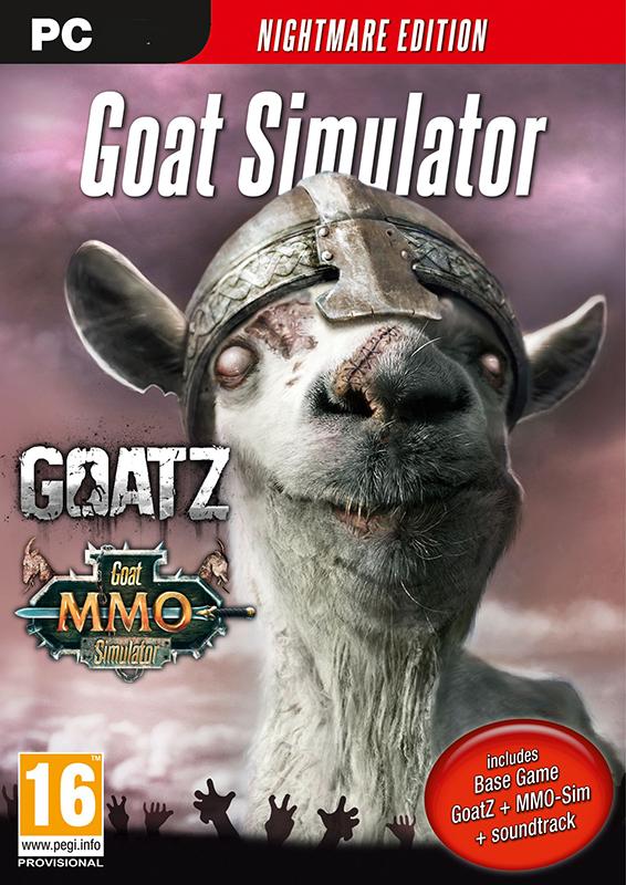 Goat Simulator. Goaty Nightmare Edition (Цифровая версия)Игра Goat Simulator &amp;ndash;  это самая последняя технология симуляции козла, которая позволяет вам воспользоваться симуляцией козла следующего поколения. Вам больше не придется воображать себя козлом, ваши мечты наконец-то осуществились!<br>