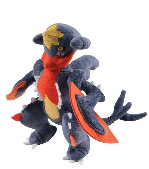 Мягкая игрушка Pokemon. Mega GarchompПредставляем вашему вниманию мягкую игрушку Pokemon. Mega Garchomp, созданную по мотивам вселенной Pok&amp;#233;mon.<br>