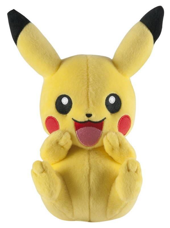 Мягкая игрушка Pokemon. PikachuПредставляем вашему вниманию мягкую игрушку Pokemon. Pikachu, созданную по мотивам вселенной Pok&amp;#233;mon.<br>