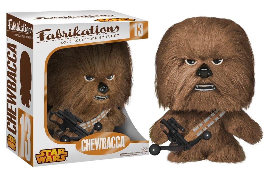 Мягкая игрушка Star Wars. Chewbacca FabrikationsПредставляем вашему вниманию мягкую игрушку Star Wars. Chewbacca Fabrikations, созданную по мотивам саги о Звездных войнах.<br>