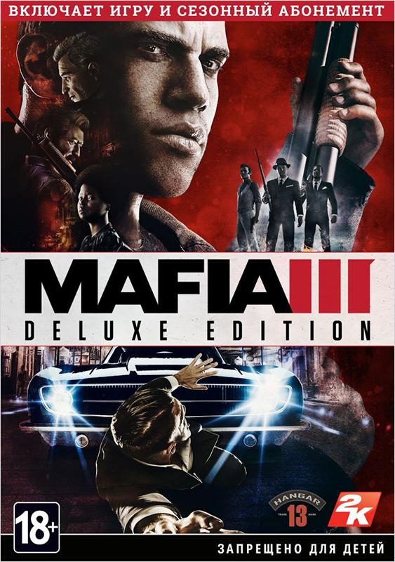 Mafia III. Digital Deluxe (Цифровая версия)Mafia III – новый выпуск культовой серии о буднях организованной преступности. Впервые игрокам выпадет шанс создать собственный клан, подчинить себе город и воплотить грандиозный план мести.<br>