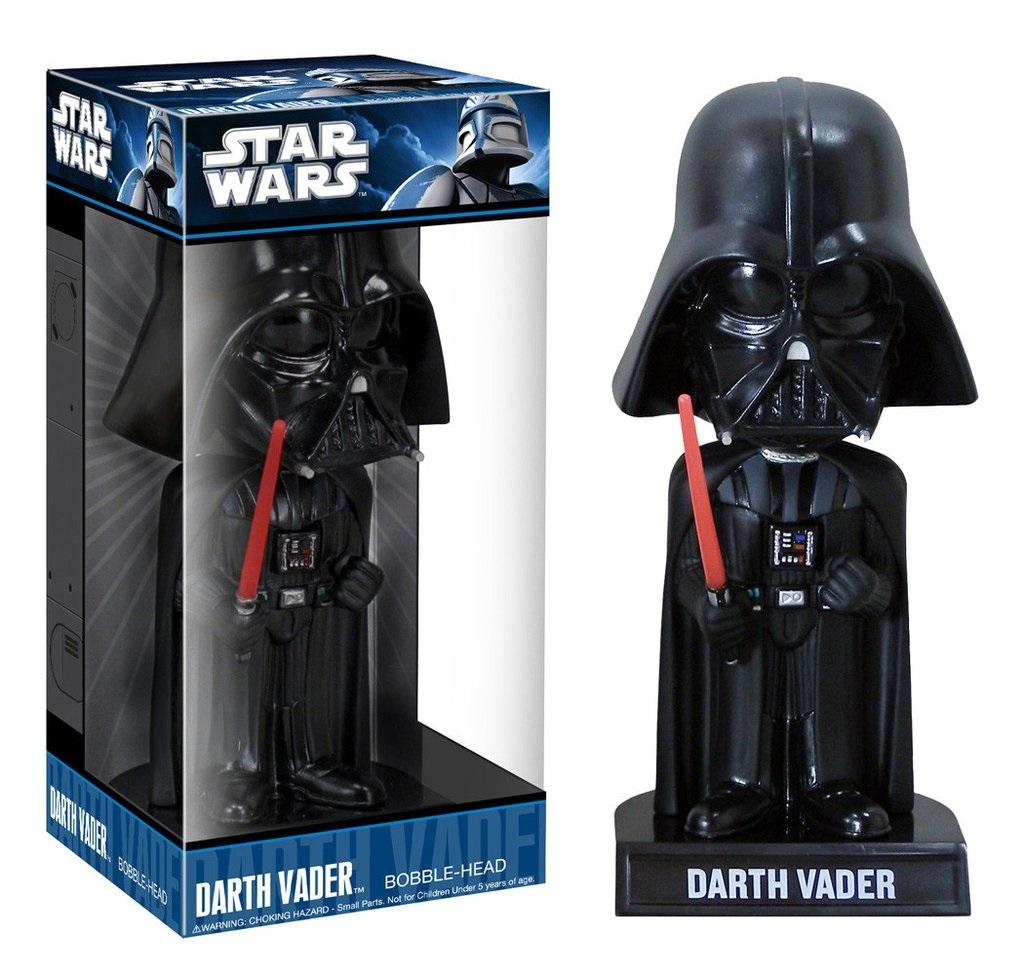 Фигурка Star Wars. Darth Vader BobbleheadПредставляем вашему вниманию фигурку Star Wars. Darth Vader Bobblehead, созданную по мотивам саги о Звездных войнах.<br>