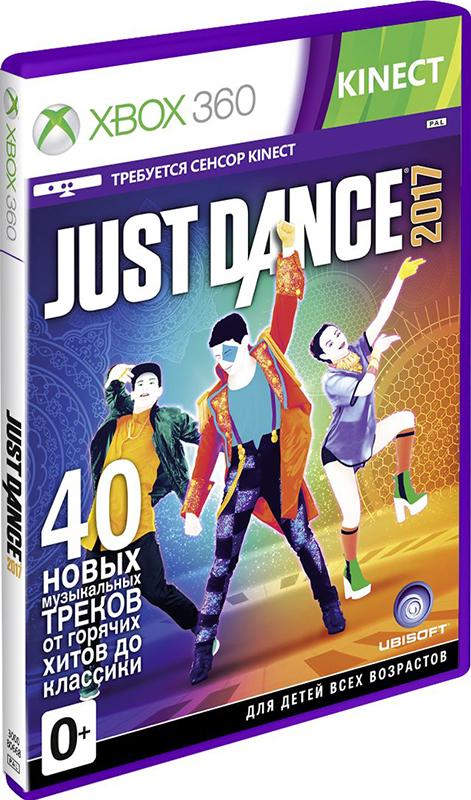 Just Dance 2017 (только для MS Kinect) [Xbox 360]Зовите друзей и родственников! Настало время танцевать с Just Dance 2017! Лучшая музыкальная видеоигра всех времен, разошедшаяся тиражом в 60 миллионов копий, возвращается! Just Dance 2017 включает 40 новых треков, шесть игровых режимов, годовой доступ к обновлениям и более 200 песен в Just Dance Unlimited!<br>