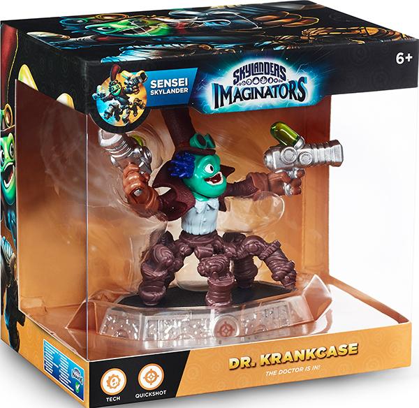 Skylanders Imaginators: Набор Combo Pack - Сэнсэй Dr. Krankcase + кристалл Tech