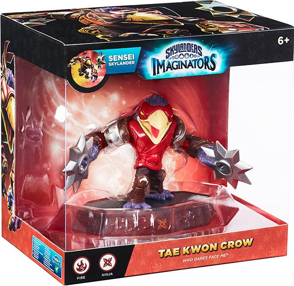 Skylanders Imaginators. Интерактивная фигурка. Сэнсэй. Tae Kwon Crow (стихия Fire)