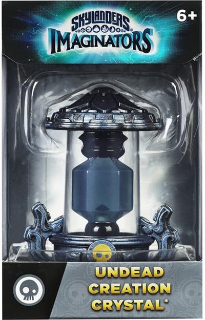 Skylanders Imaginators: Кристалл (стихия Undead)Skylanders Imaginators. Кристалл (стихия Undead) позволяет игрокам создавать и переносить на консоли своих собственных уникальных скайлендеров в любое время в любом месте! Творящие кристаллы принадлежат к различным стихиям. Мастера порталов могут создать лишь одного персонажа в одном кристалле.<br>