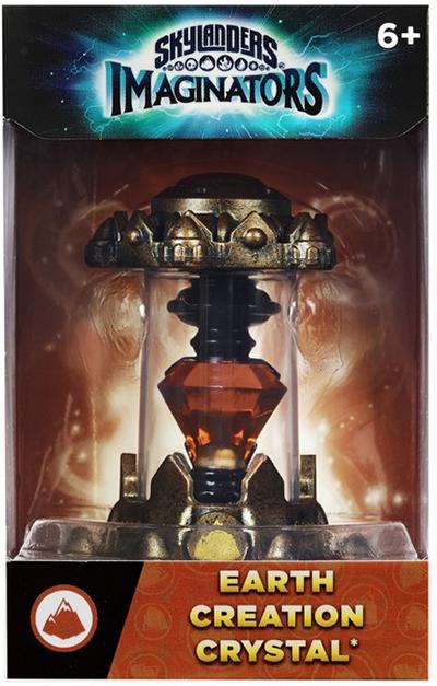 Skylanders Imaginators: Кристалл (стихия Earth)Skylanders Imaginators. Кристалл (стихия Earth) позволяет игрокам создавать и переносить на консоли своих собственных уникальных скайлендеров в любое время в любом месте! Творящие кристаллы принадлежат к различным стихиям. Мастера порталов могут создать лишь одного персонажа в одном кристалле.<br>