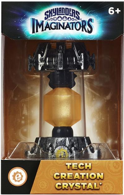 Skylanders Imaginators: Кристалл (стихия Tech)Skylanders Imaginators. Кристалл (стихия Tech) позволяет игрокам создавать и переносить на консоли своих собственных уникальных скайлендеров в любое время в любом месте! Творящие кристаллы принадлежат к различным стихиям. Мастера порталов могут создать лишь одного персонажа в одном кристалле.<br>