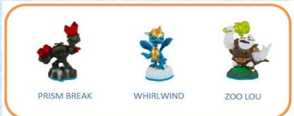 Skylanders Imaginators. Набор из 3 фигурок №2 (Prism Break/Whirlwind/Zoo Lou)Skylanders Imaginators. Набор из 3 фигурок №1 (Prism Break/Whirlwind/Zoo Lou) позволяет использовать полюбившихся всем скайлендеров из предыдущих игр серии &amp;ndash; теперь их тоже можно обучать!<br>