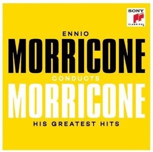 Ennio Morricone conducts Morricone: His Greatest Hits (CD) new winter women children girl knitted mink fur hat striped words with fox ball mink weave hats caps headgear skullies beanies