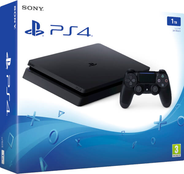Sony PlayStation 4 Slim (1 TB) Black (CUH-2000) от 1С Интерес