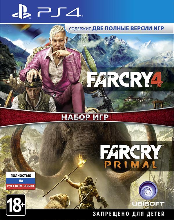 Комплект игр Far Cry 4 + Far Cry Primal [PS4]