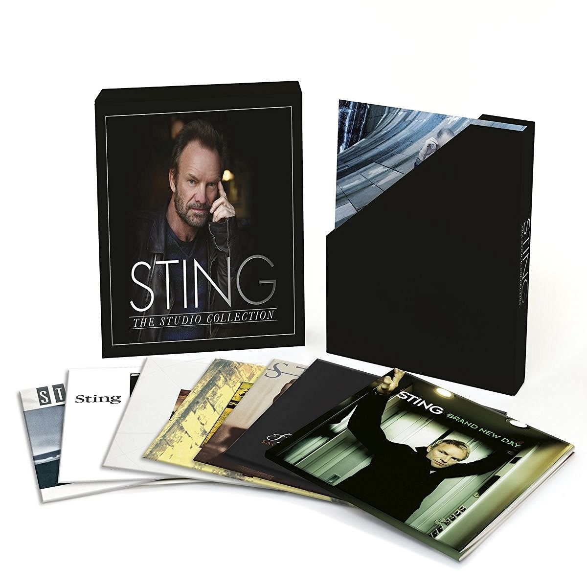 Sting. The Studio Collection (11 LP) sting sting the complete studio collection 16 lp