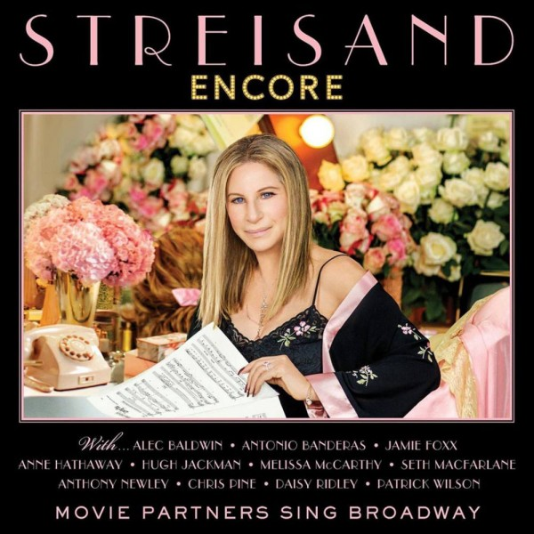 Barbra Streisand. Encore: Movie Partners Sing Broadway (LP) partners cd