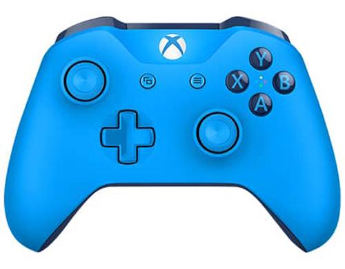 Беспроводной геймпад для Xbox One с 3,5 мм разъемом и Bluetooth (синий)Играйте как никогда прежде с беспроводным геймпадом для Xbox One с 3,5 мм разъемом и Bluetooth. Уникальные импульсные курки дают обратную вибрационную связь, так что вы ощутите малейшую тряску с неимоверной точностью.<br>