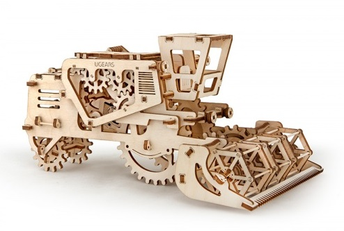 Конструктор 3D-пазл Ugears. Комбайн
