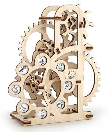 Конструктор 3D-пазл Ugears. СиломерПредставляем вашему вниманию конструктор 3D-пазл Ugears. Силомер, модель для самостоятельной сборки без клея от компании Ugears.<br>