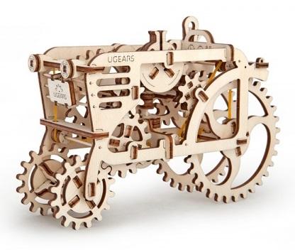 Конструктор 3D-пазл Ugears. Трактор