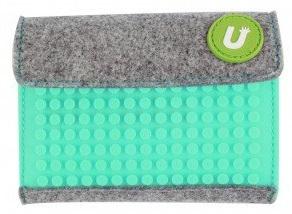 Пиксельный кошелек (Pixel felt small wallet) WY-B007 (светло-голубой) большой пиксельный универсальный чехол для смартфона pixel felt phone pocket фуксия зеленый