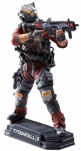 Фигурка Titanfall 2. Pilot (17 см)Представляем вашему вниманию фигурку Titanfall 2. Pilot, которая воплощает собой пилота из игры Titanfall 2, сетевого научно-фантастического шутера от первого лица с элементами симулятора меха, разрабатываемого Respawn Entertainment.<br>