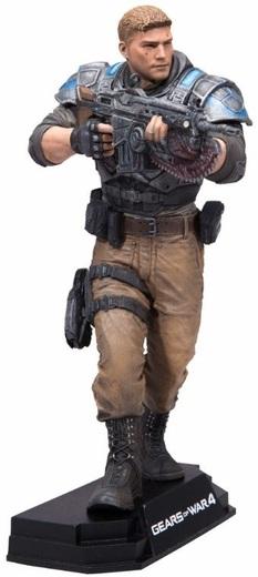 Фигурка Gears Of War 4. JD Fenix (17 см)Представляем вашему вниманию фигурку Gears Of War 4. JD Fenix от компании McFarlane, которая воплощает собой персонажа шутера от третьего лица Gears of War 4 Джея Ди Феникса, сына Маркуса Феникса.<br>