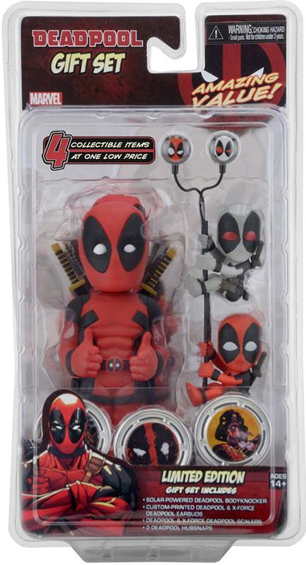 Набор Marvel Deadpool: фигурка на солнечной батарее, наушники, держатели проводов (2 шт)Продемонстрируйте всем своего любимого персонажа Marvel с уникальным подарочным набором Marvel Deadpool: фигурка на солнечной батарее, наушники, держатели проводов (2 шт), который включает в себя четыре коллекционные предметы стилизованные с использованием образа Дэдпула &amp;ndash; невероятно ценный сувенир для фаната любого возраста!<br>