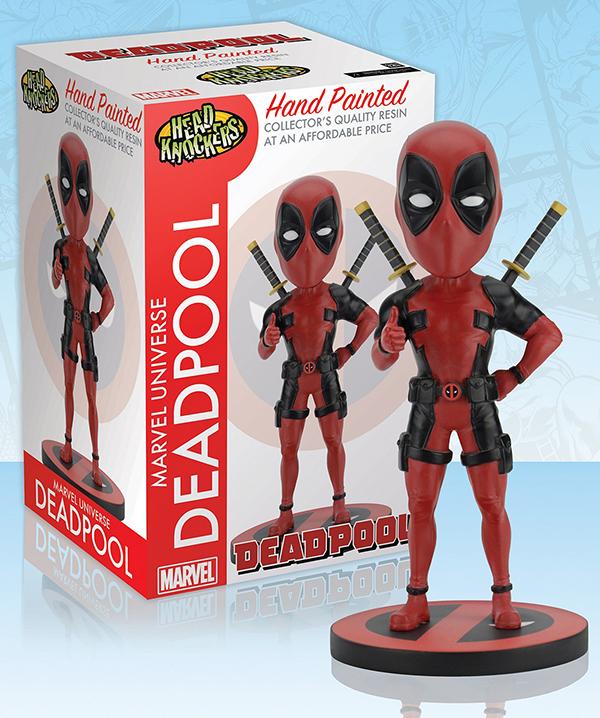 Фигурка Marvel. Deadpool Classic. Headknocker (20 см)Фигурка Marvel. Deadpool Classic Headknocker воплощает собой персонажа серии комиксов и фильмов вселенной Marvel.<br>