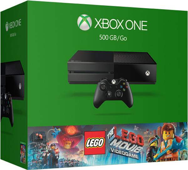 Комплект Xbox One (500 GB) + игра Lego the Movie (5C7-00181)