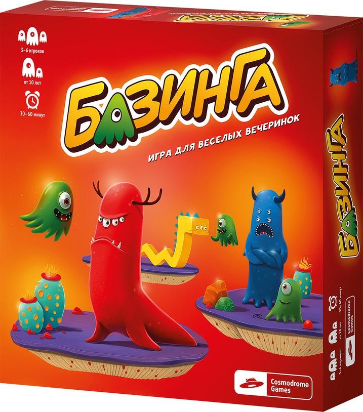 Настольная игра БазингаПредставляем вашему вниманию настольную игру Базинга, уникальную игру на объяснение слов.<br>