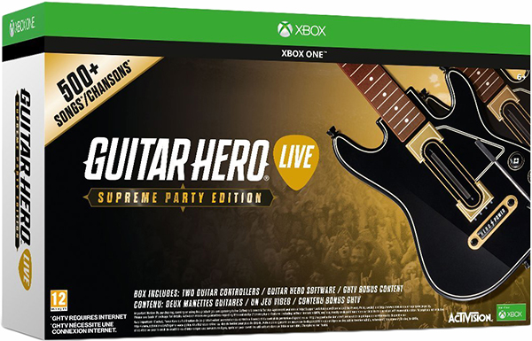 Guitar Hero Live. Supreme Party Edition [Xbox One] guitar hero 5 без гитары спб