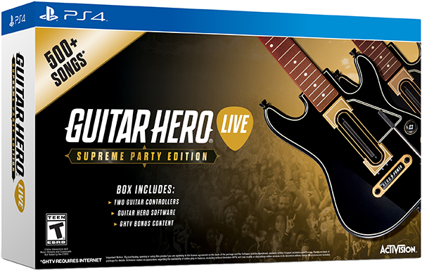 Guitar Hero Live. Supreme Party Edition [PS4]