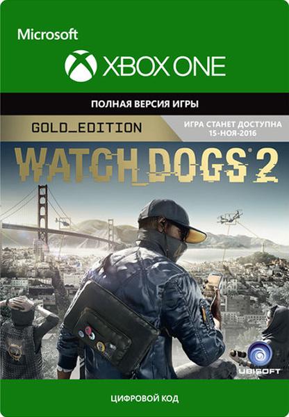 Watch Dogs 2. Gold Edition [Xbox One] (Цифровая версия) от 1С Интерес