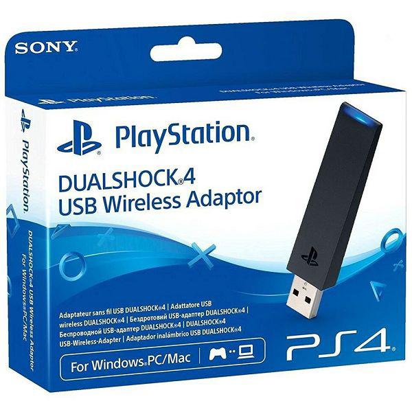 Беспроводной USB-адаптер DualShock 4 USB Wireless Adaptor для PS4 (для подключения геймпада к PC и Mac)Подключите ваш беспроводной контроллер DualShock 4 к Windows ПК или Mac через Bluetooth и наслаждайтесь дистанционным воспроизведением на вашей PS4.<br>