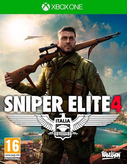 Sniper Elite 4 [Xbox One]Закажите игру Sniper Elite 4 до 17:00 часов 10 февраля 2017 года и получите в подарок дополнительную миссию «Цель: Фюрер» и 7 камуфлированных винтовок.<br>