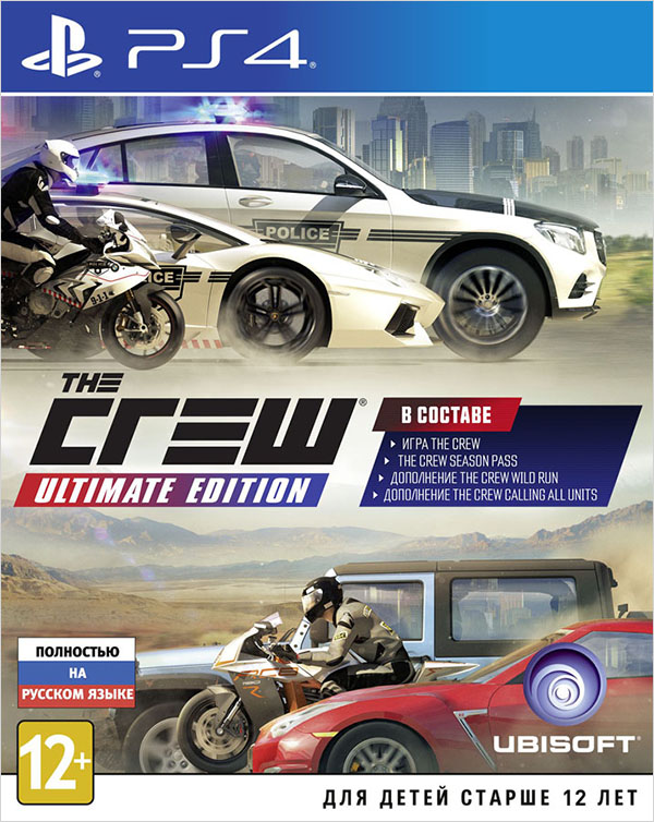 The Crew. Ultimate Edition [PS4]