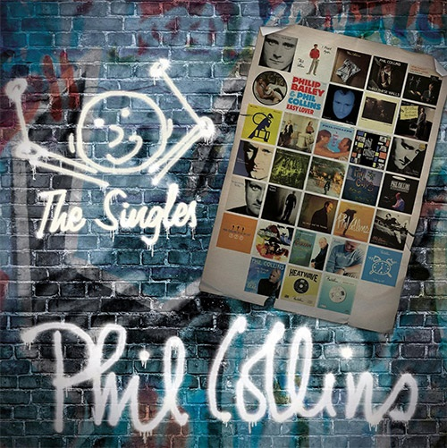 Phil Collins: The Singles (2 CD) phil collins singles 4 lp
