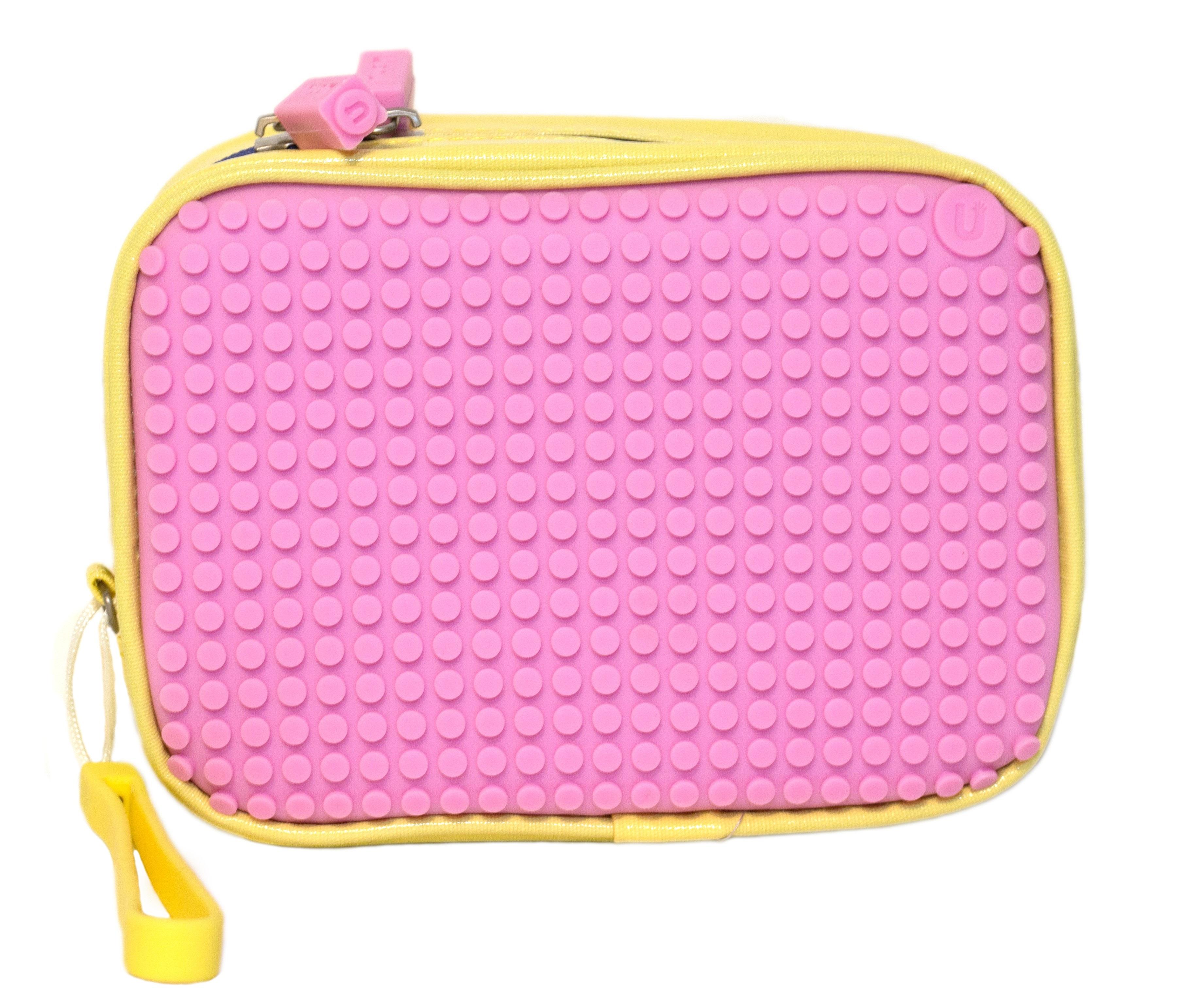 Клатч (Canvas Handbag) WY-B00 (желтый/розовый)