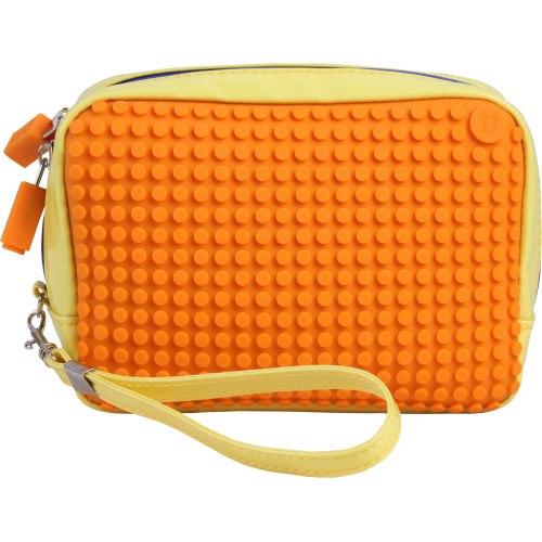 Клатч (Canvas Handbag) WY-B00 (желтый/оранжевый)Представляем вашему вниманию клатч (Canvas Handbag) WY-B00, имеющий силиконовую панель, на которой с помощью «пикселей» в виде мозаики выкладывается абсолютно любой рисунок.<br>