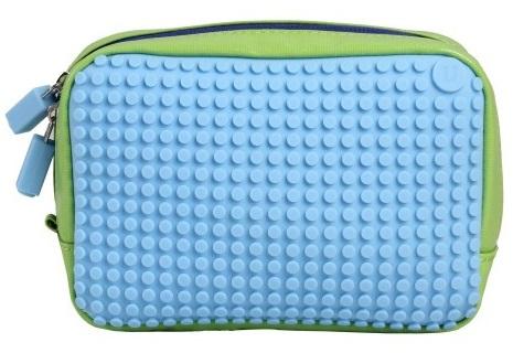 Клатч (Canvas Handbag) WY-B00 (зеленый/светло-голубой)Представляем вашему вниманию клатч (Canvas Handbag) WY-B00, имеющий силиконовую панель, на которой с помощью «пикселей» в виде мозаики выкладывается абсолютно любой рисунок.<br>