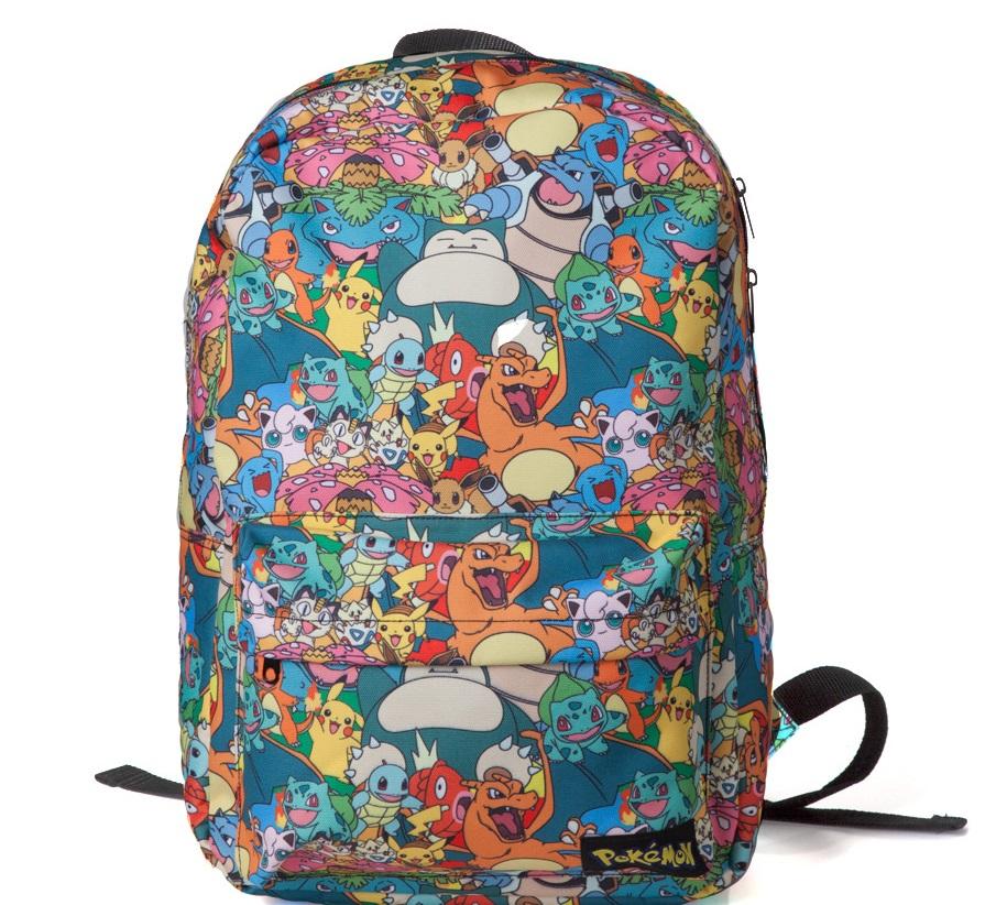 Рюкзак Pokemon. Characters All Over Printed BackpackПредставляем вашему вниманию рюкзак Pokemon. Characters All Over Printed Backpack, созданный по мотивам вселенной Pok&amp;#233;mon.<br>