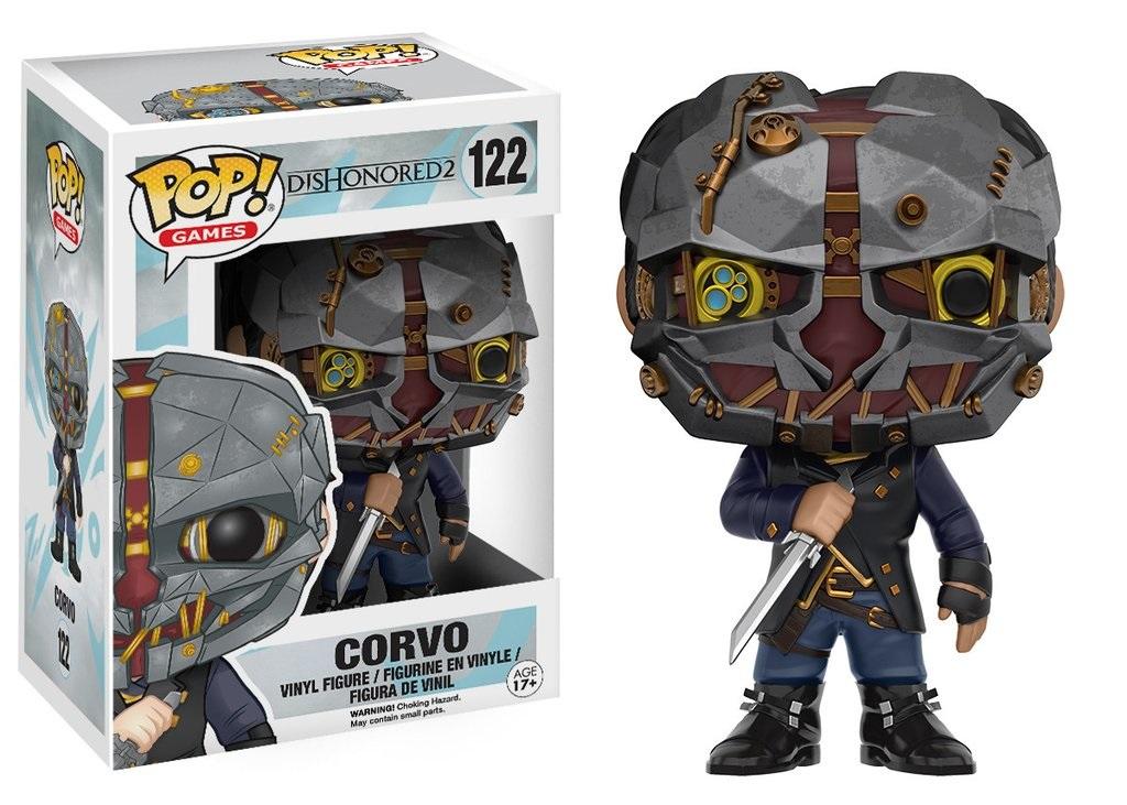 Фигурка Dishonored 2 Pop! Corvo (9,5 см)Закажите фигурку Dishonored 2 Pop! Corvo и получите дополнительные 65 бонусов на вашу карту.<br>