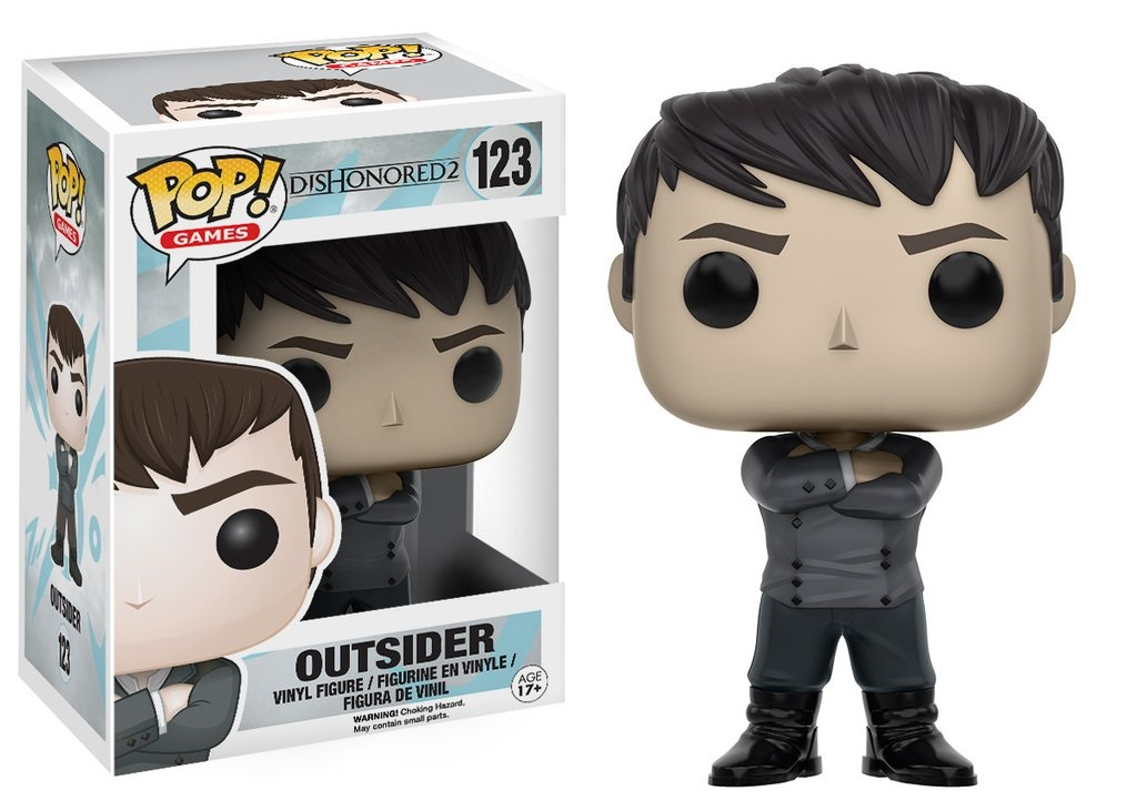 Фигурка Funko POP Games Dishonored 2: Outsider (9,5 см) sony ps4 dishonored death of the outsider [русская версия]
