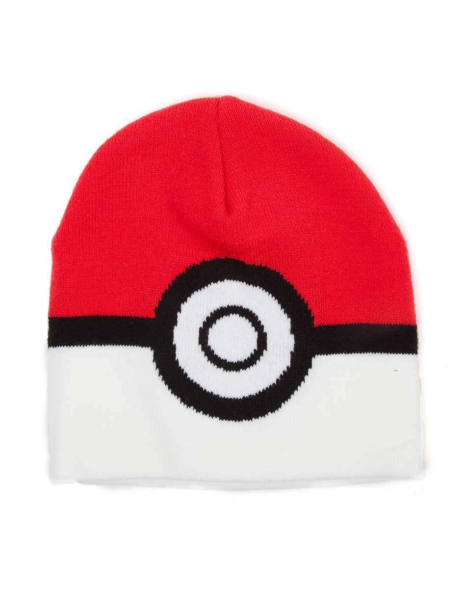 Шапка Pokemon. Pokeball BeanieПредставляем вашему вниманию шапку Pokemon. Pokeball Beanie, созданную по мотивам вселенной Pok&amp;#233;mon.<br>