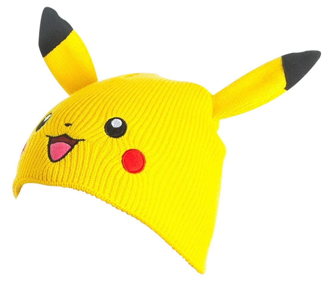 Шапка Pokemon. Pikachu Beanie with Ears
