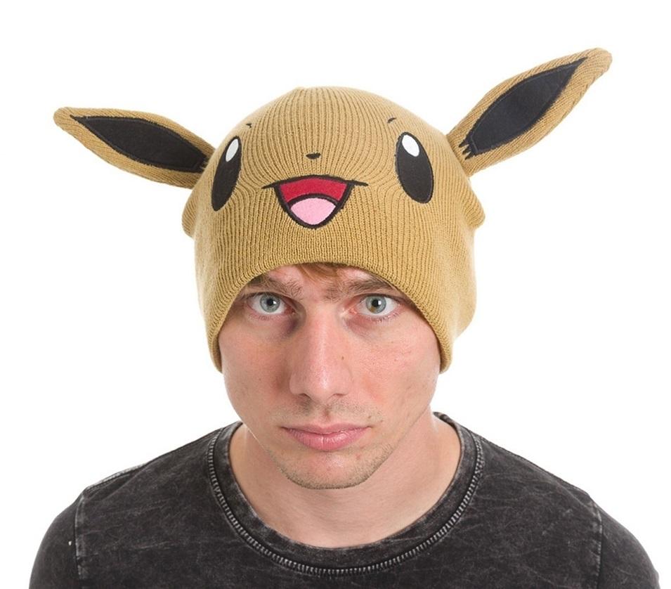 Шапка Pokemon. Eevee BeanieПредставляем вашему вниманию шапку Pokemon. Eevee Beanie, созданную по мотивам вселенной Pok&amp;#233;mon.<br>