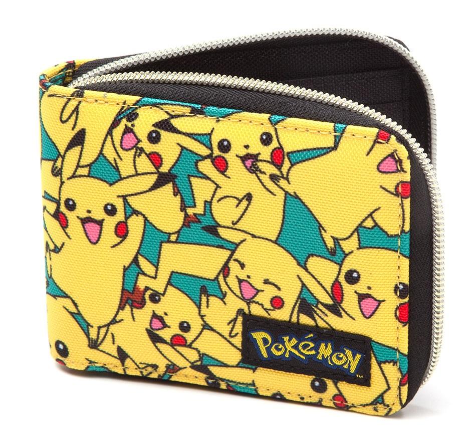 Кошелек Pokemon. All Over Pikachu Zip Wallet lno 135pcs pikachu pokemon building block