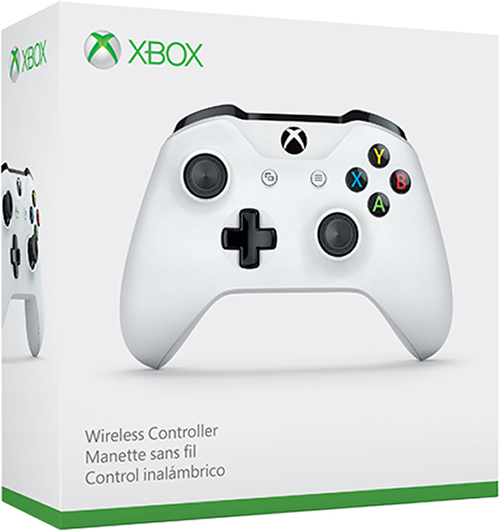 Беспроводной геймпад для Xbox One с 3,5 мм разъемом и Bluetooth (белый) кастомизированный беспроводной геймпад для xbox one гладиатор